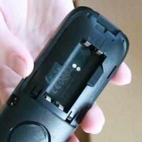 insert battery
